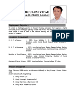 CV of Md Zillur Rahman