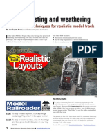 Model Railroad E-Book - Ballasting and Weathering Track Kalmbach
