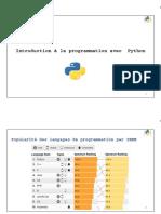 1. Introduction à la programmation avec Python 2