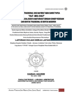 Arsitektur Maybrat Imian Sawiat-laporan Kkl II - Hamah Sagrim - Uwm