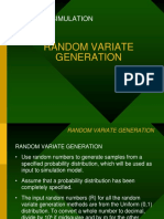 Random Variate Generation-1