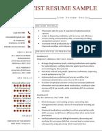 Pharmacist-Resume-Sample_Minimalist-Red