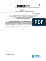 MSC-MEPC.7-Circ.9 - Guidelines For The Reactivation Of The Safety Management Certificate Following An Operatio... (Secretariat)