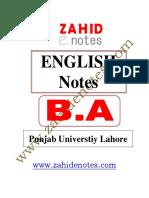 BA English Zahid Notes.pdf