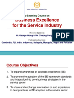 Module 1 - Introduction to Business Excellence