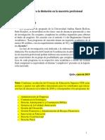 PAUTAS ALTERNATIVAS DE TITULACIÓN PARA MAESTRIAS PROFESIONALES aprobado ...