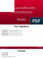 Getting ready for GDPR and CCPA_ Securing and governing hybrid, cloud, and on-premises big data deployments Presentation