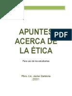1 APUNTES ACERCA DE LA ÉTICA - J. GALDONA