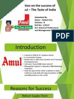 Success Story of Amul