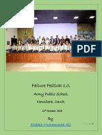 Failure Festival 1.0 Nowshera