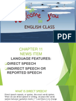 Ppt Reported Speech