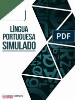 Simulado Língua Portuguesa - Com Gabarito