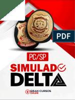SIMULADO DE INFORMATIVOS - gabarito e propaganda