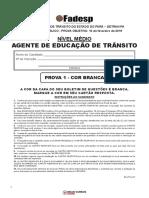Simulado DETRAN-PA – Agente de Educação de Trânsito - Com Gabarito.pdf
