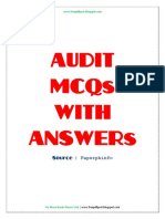 AUDIT MCQs WITH ANSWERs