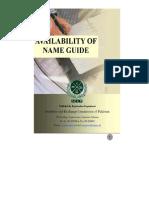 Company Name Availability Guide