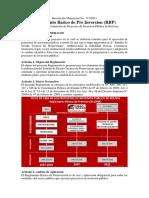 Reglamento Básico de PreInversión de Bolivia 2015