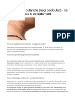 Boli dermato-venerice-Papiloamele cutanate