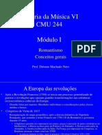 Modulo I - Romantismo - conceitos gerais.ppt