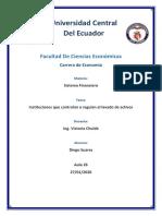 Regulacion Lavado Activos en Ecuador