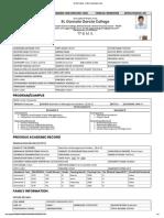 St. GG College - Online Registration Form
