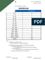 Sampling Plan_SAP_Actual