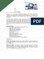 Toshiba Aquilion 16CT Scanner