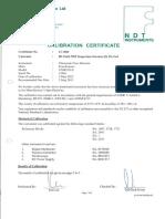 UT-EQUIPMENT CALIBRATION(1230A)