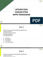 Latihan Soal WPPE-P HE_Pengajar