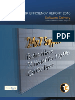 Help desk efficiency report 2010
