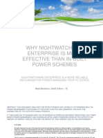 Why NightWatchman Enterprise is more effective than in-built power schemes