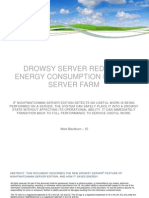 Drowsy Server reduces energy consumption in your server farm