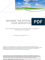 Maximize the efficiency of your server farm