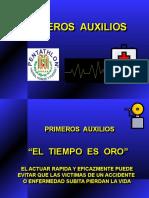 PRIMEROS AUXILIOS basicos.ppt