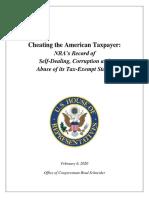Brad Schneider NRA Report 2.6.2020