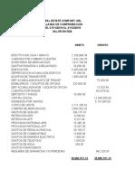 ESTADOS FINANCIEROS DE SEMINARIO