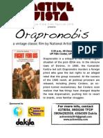 Orapronobis- ACTIVE VISTA Human Rights Week film showing