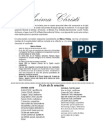 ANIMA CHRISTI - Historia