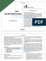 PORTFÓLIO COM ALGUMAS METODOLOGIAS