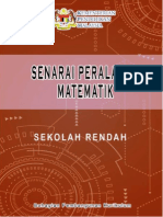Senarai Peralatan Matematik Sekolah Rendah