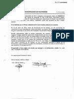 Declaración de Hernán Acevedo