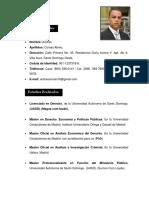 HOJA DE VIDA DE ANDRES COMAS ABREU. ACTUAl