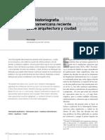 Una historiografia latinoamericana reciente