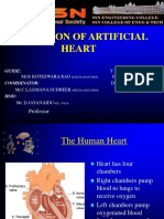 ARTIFICIAL HEART TECHNOLOGY