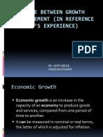 GROWTH &DEVELOPEMENT
