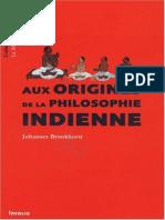Aux origines de la philosophie indienne - Philosophie.epub