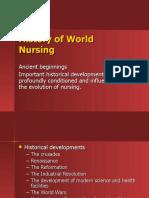 History of World Nursing