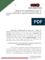 Agravo interno - M.4 - Supressão de instancia