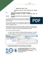 INSTRUCTIVO 11. ACTUALIZACION DEL NIVEL  DE PE