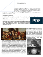 storia dell'arte riassunto dal neoclassicismo ad oggi
